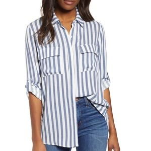 Scottsdale Oversize Button Down Tunic By GIBSON